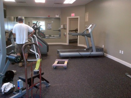 Fall River Condo Fitness Room